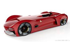 Alfa Romeo Trionfo: retro-futuristisch