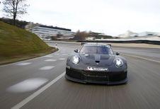 La remplaçante de la Porsche 911 RSR en déverminage