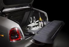 Bar à champagne dans les Rolls-Royce Phantom Zenith