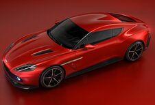 Aston Martin Vanquish Zagato in Villa d'Este