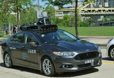 Uber test zijn zelfrijdende auto