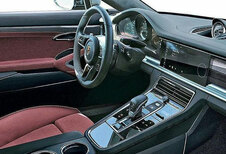 Cockpit de la Porsche Panamera en fuite