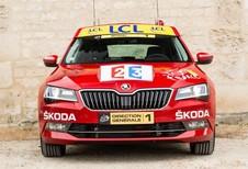 La Skoda Superb du Directeur du Tour de France