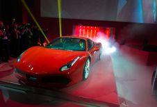 V8 van Ferrari Motor van het Jaar 2016