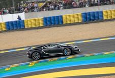 Bugatti Chiron: 380 km/h op circuit van Le Mans