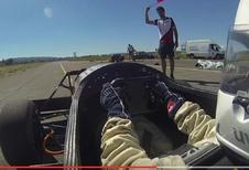 Studenten verbreken wereldrecord van 0 naar 100 km/h