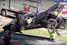 La Koenigsegg crashée au Nürburgring sera reconstruite