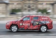 Skoda Kodiaq : une sortie pour la finale du Tour de France