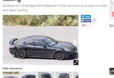 Porsche : bientôt une petite Panamera