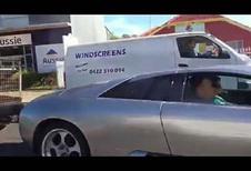 En Lamborghini Murcielago, il tire une remorque !