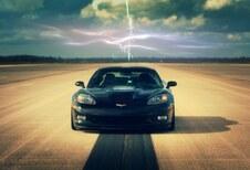 Vidéo - Record de vitesse électrique : Corvette rapide comme l'éclair