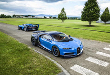 Doe mij maar 2 Bugatti's, waarbij het prototype