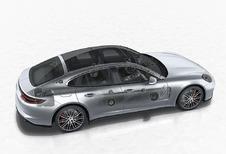 Porsche Panamera : son 3D Burmester