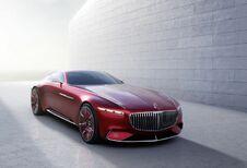 Vision Mercedes-Maybach 6 : électrique à portes papillon