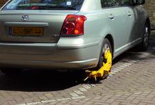 Parkeerticket 'vergeten'? Opgepast voor de wielklem