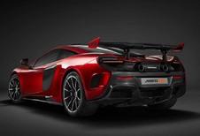 Waarvoor staat de HS van de McLaren MSO HS?