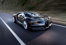 Bugatti Chiron: als warme broodjes