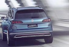 Toekomstige Volkswagen Touareg: eerste details