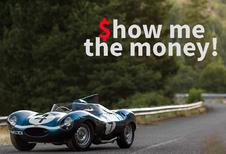 De 10 duurst geveilde wagens tijdens de Monterey Car Week 2016