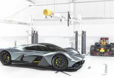 Aston Martin AM-RB 001: atmosferische V12 en hybride