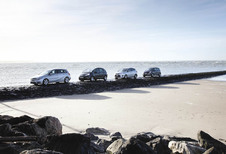 Citroën C4 Picasso, Ford C-Max, Mercedes B-Klasse en Renault Scénic : New kid in town