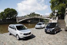 Dacia Lodgy 1.5 dCi 110, Nissan Evalia 1.5 dCi 110 et Volkswagen Caddy Maxi 1.6 TDI 102 DSG : 7 places aux juste prix