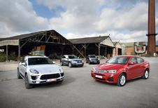 Audi SQ5 TDI, BMW X4 35d, Infiniti QX50 30d et Porsche Macan : SUV über alles?