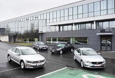 BMW 316d, Mercedes C180 BlueTEC, Volkswagen Passat 1.6 TDI BlueMotion en Volvo S60 D2 : Rondje van de zaak