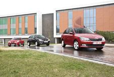 Renault Clio Grandtour 1.5 dCi, Seat Ibiza ST 1.6 TDI en Skoda Fabia Combi 1.4 TDI : Mooi vanbinnen én vanbuiten