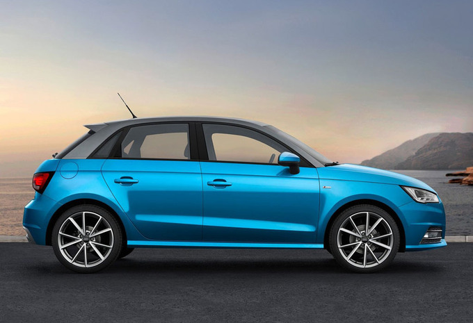 audi a1 sportback 1 6 tdi 85kw sport 2016 prix moniteur automobile. Black Bedroom Furniture Sets. Home Design Ideas