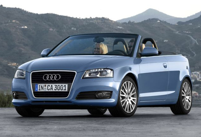 audi a3 cabriolet 1 6 tdi s line 2008 prix moniteur automobile. Black Bedroom Furniture Sets. Home Design Ideas