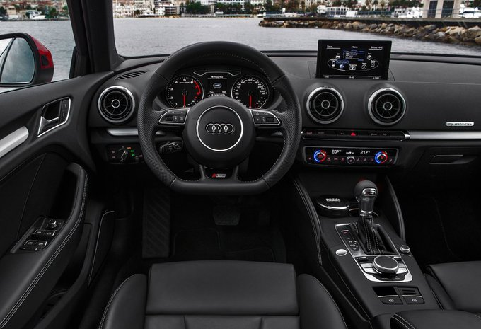 audi a3 sportback 1 6 tdi ultra 81kw attraction 2016 prix moniteur automobile. Black Bedroom Furniture Sets. Home Design Ideas