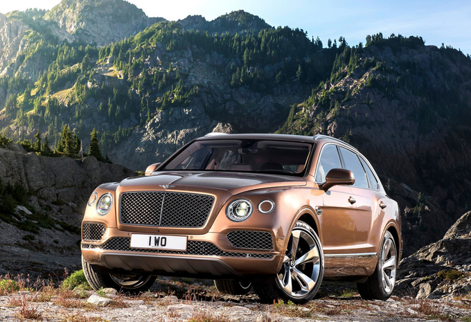 bentley bentayga 6 0 w12 4x4 aut 2017 prix moniteur automobile. Black Bedroom Furniture Sets. Home Design Ideas