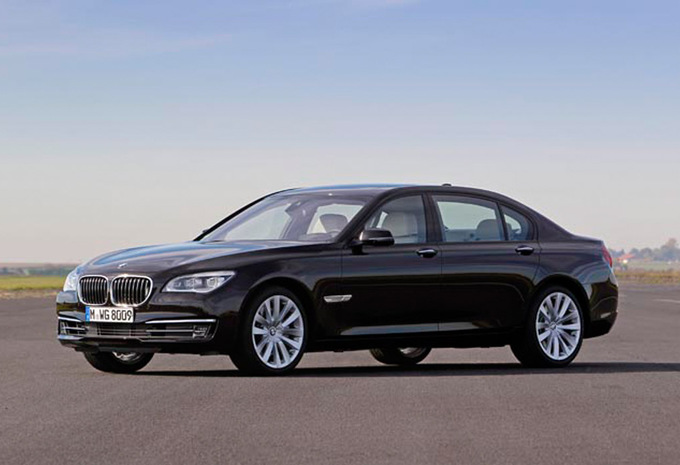 bmw s rie 7 berline 740d xdrive 2008 prix moniteur. Black Bedroom Furniture Sets. Home Design Ideas