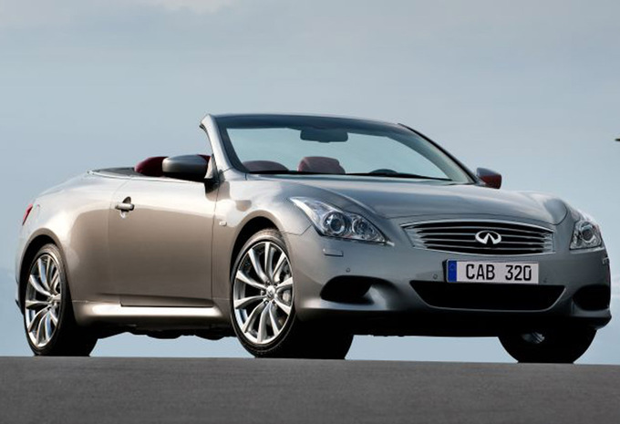 infiniti g37 cabriolet 3 7 v6 gt 2010 prix moniteur automobile. Black Bedroom Furniture Sets. Home Design Ideas