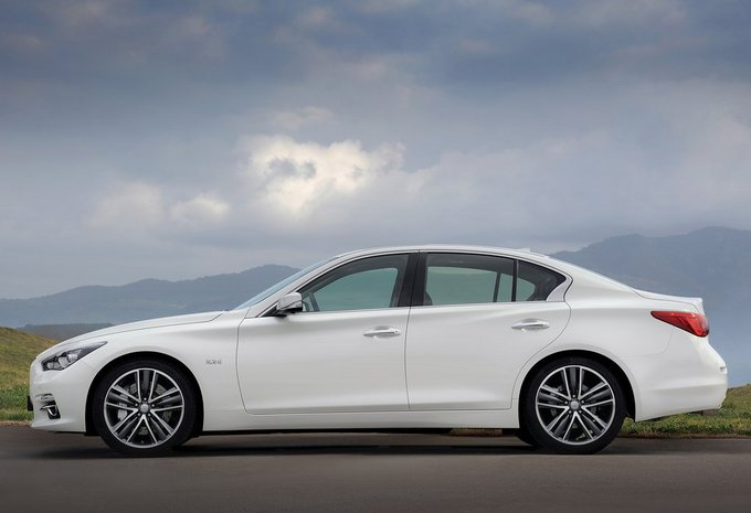 infiniti q50 berline q50 s hybrid awd 2014 prix moniteur automobile. Black Bedroom Furniture Sets. Home Design Ideas