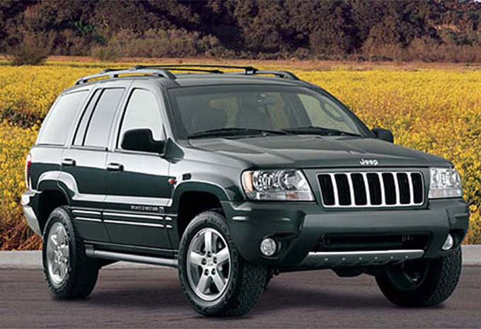 jeep grand cherokee 2 7 crd overland 1999 prix moniteur automobile. Black Bedroom Furniture Sets. Home Design Ideas