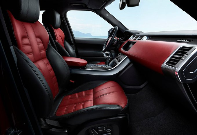 land rover range rover sport 5 0 v8 supercharged svr 2016. Black Bedroom Furniture Sets. Home Design Ideas