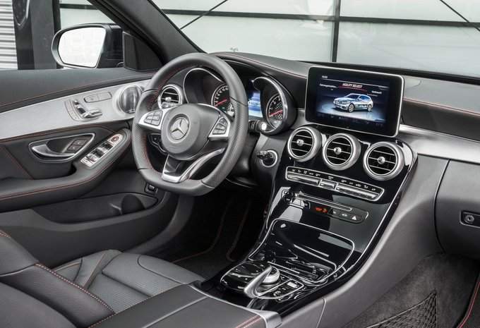 mercedes benz classe c break c 300 h bluetec hybrid amg line 2017 prix moniteur automobile. Black Bedroom Furniture Sets. Home Design Ideas