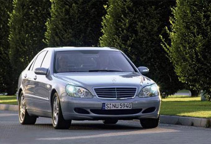 mercedes benz classe s berline s 320 cdi l 1998 prix moniteur automobile. Black Bedroom Furniture Sets. Home Design Ideas