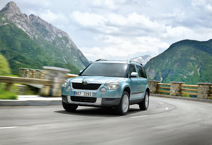 skoda yeti 2 0 tdi 110 elegance 2009 prix moniteur. Black Bedroom Furniture Sets. Home Design Ideas