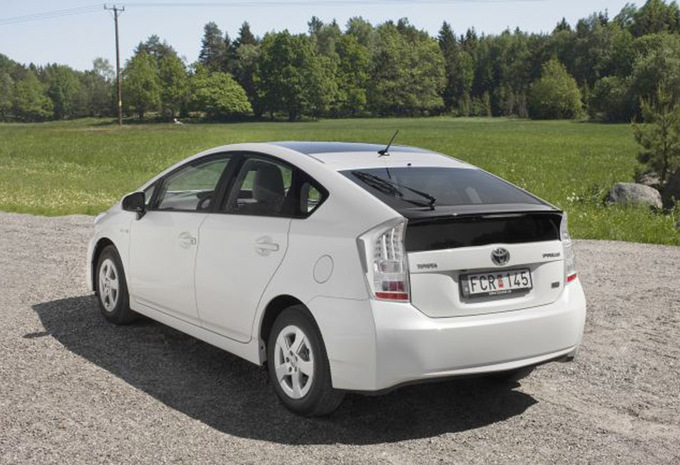 toyota prius 1 8 vvt i hybrid solar premium 2009 prix moniteur automobile. Black Bedroom Furniture Sets. Home Design Ideas