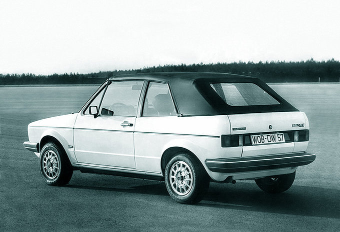 volkswagen golf cabriolet 1 8 gli 1979 prix moniteur automobile. Black Bedroom Furniture Sets. Home Design Ideas