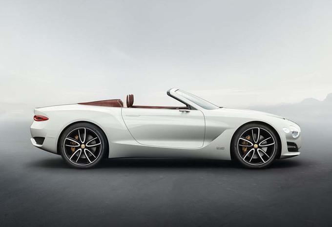 Concept électrique Bentley EXP 12 Speed 6e