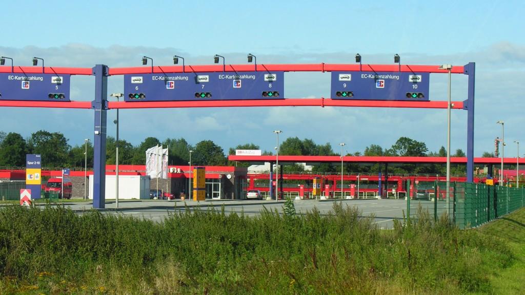 Terminal du Sylt Shuttle à NIebüll