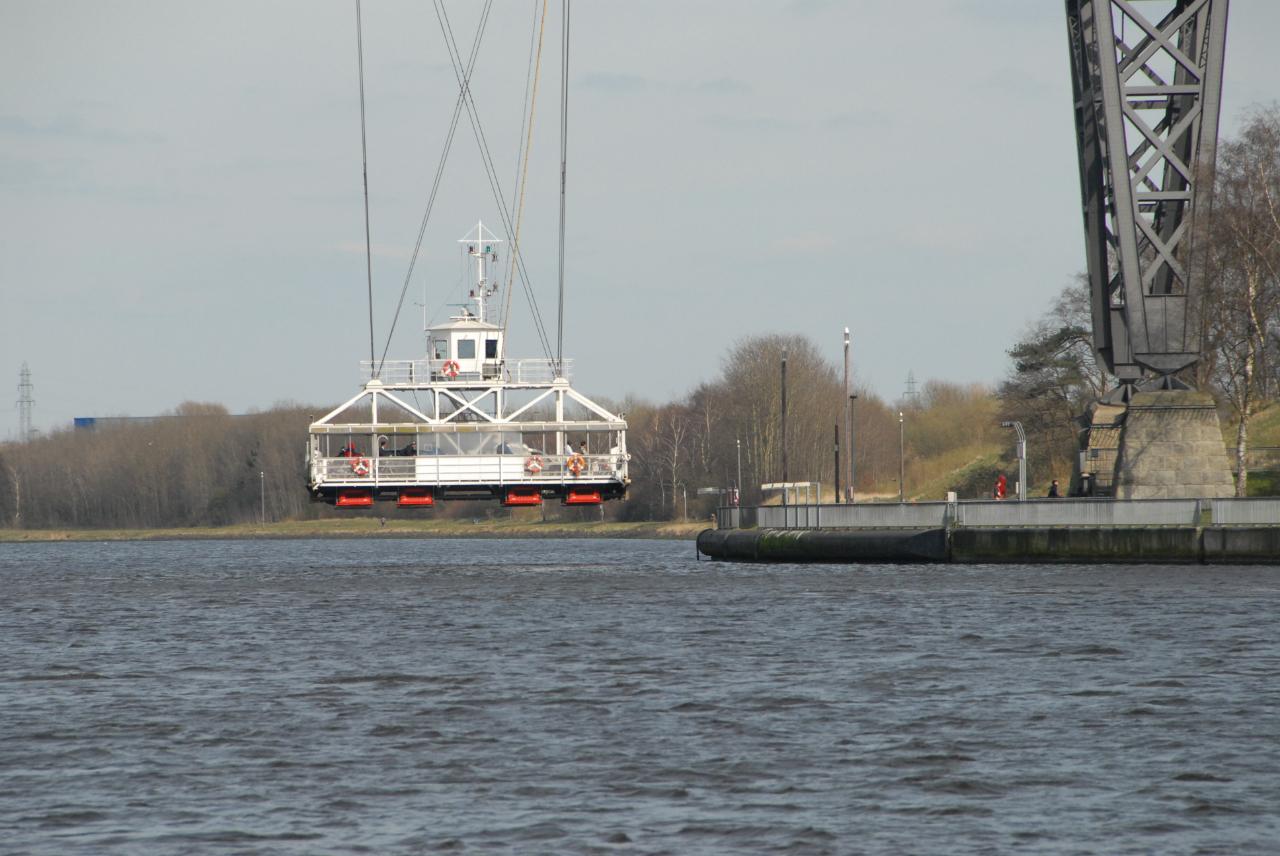 Le pont transbordeur de Rendsburg est gratuit
