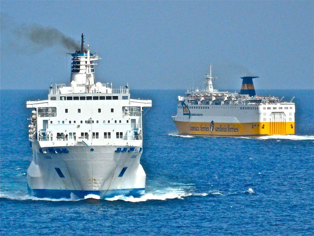 Ferries France métropolitaine - Corse