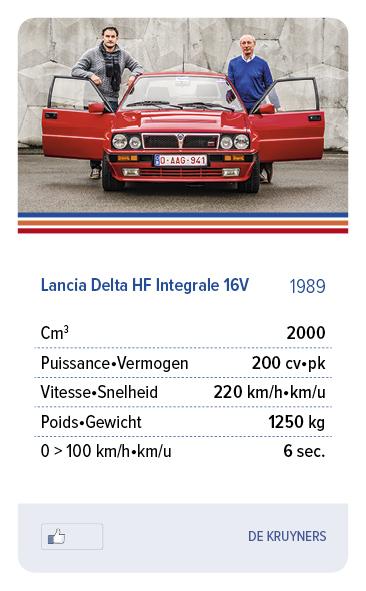 Lancia Delta HF Integrale 16V 1989 - DE KRUYNERS