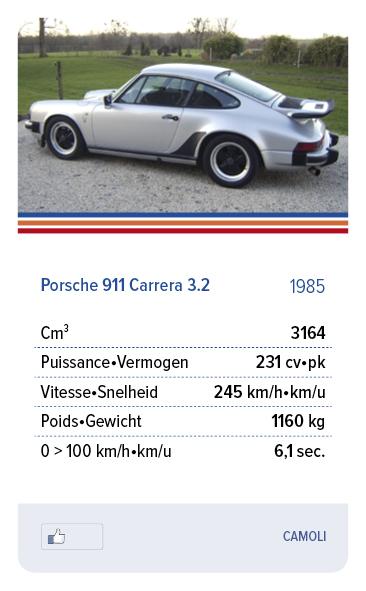 Porsche 911 Carrera 3.2 1985 - CAMOLI