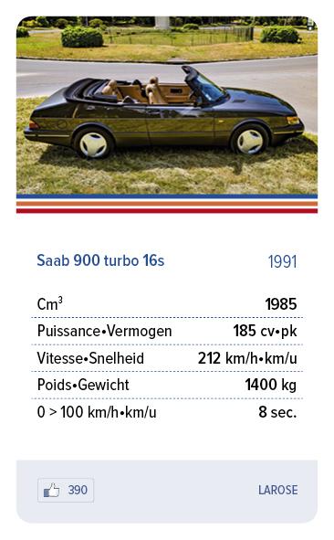 Saab 900 turbo 16s 1991 - LAROSE